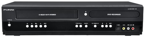 The New Funai ZV427FX4 Combination VCR and DVD Recorder