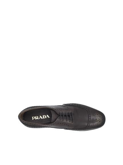 Prada Men's Modified Wingtip