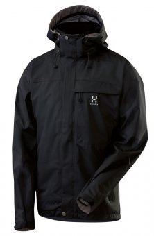 Haglöfs Men's Functional Jacket P2 Pannus - Black, XL