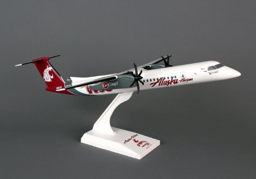 Daron Worldwide Trading SKR716 Skymarks Alaska/Horizon Q400 1/100 Washington Stat Model Kit
