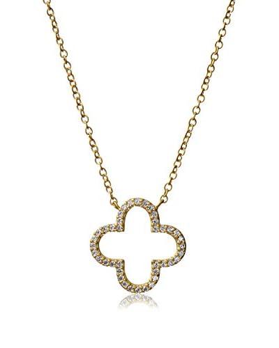 Freida Rothman Open Clover Necklace