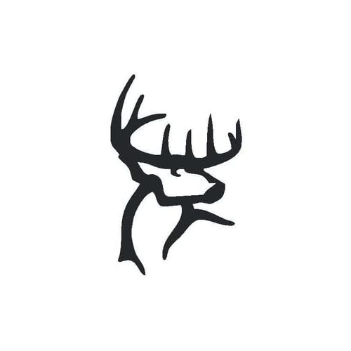 "Amazon.com: Buck Commander Deer Vinyl Die Cut Decal Sticker 6"" White"