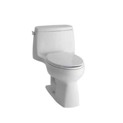 KOHLER-K-128-GPF-Santa-Rosa-Comfort-Height-One-Piece-Compact-Elongated-Toilet