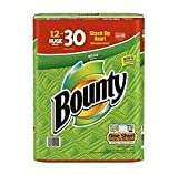 Bounty Huge Roll, White, 12 Count