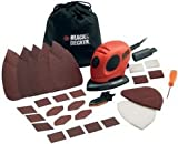 Cutting-Edge Black & DECKER - KA161BC-GB - SANDER, MOUSE WITH ACC. - (Pack of 1) - Min 3yr ClevaUK Warranty