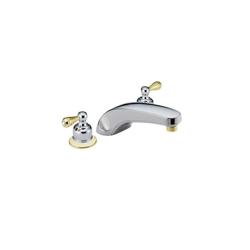 Delta Classic T2710 CBLHP Bathroom Roman Tub Faucets Chrome Polished Brass