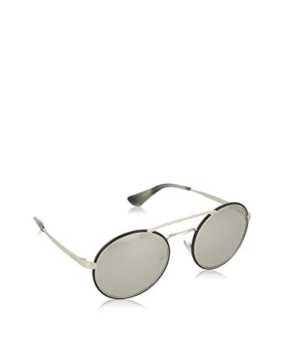 PRADA Sonnenbrille 51SS_1AB2B0 (54 mm) silberfarben/schwarz