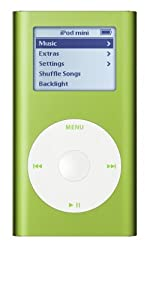 Apple iPod 4 GB mini M9806LL/A (Green)  (Discontinued by Manufacturer)