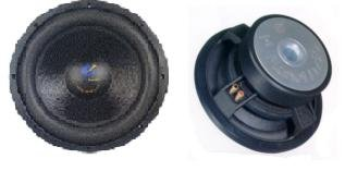 "Planet Audio Bb10, 25Cm (10"") Big Bang Series Dual Subwoofer, 1000W Max"