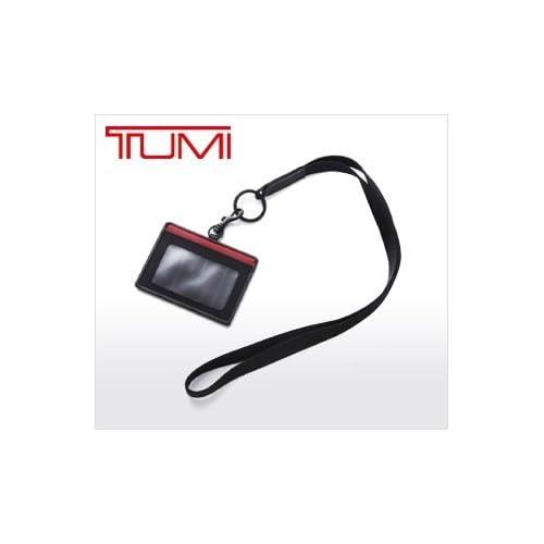 TUMI トゥミ スリム・カードケース・ネックストラップ JALオリジナルIDケース[JAL限定]