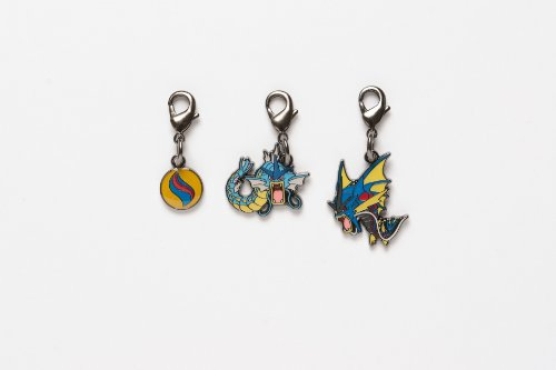 Pokemon Center National Pokedex Metal Charm Mega Gyarados