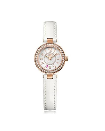 Juicy Couture Women's LUXE COUTURE White /Silver and White MGI Finished Goods Watch