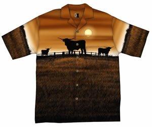Texas Longhorns Chiliwear Resort Shirt by Chiliwear LLC