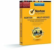 Norton 360 Multi-Device 2014, 5LC; Product Key Only Delivered via Amazon email; No CD/