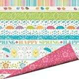 Imaginisce Hippity Hop Happy Spring 12x12 Scrapbook Paper