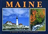 Maine Postcard Book