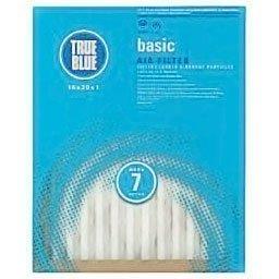 16x25x1 True Blue Basic Pleated Air Filter Merv 7 6