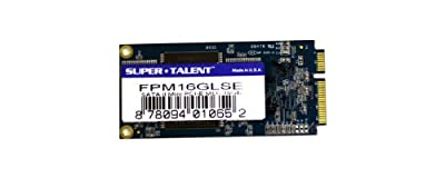 Super Talent 64GB Mini PCIe MLC SATA Solid State Drive by SuperTalent