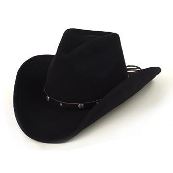 Men's felt rider hat