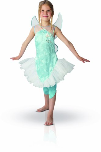 Disney Princess Costume da Bambina Pervinca, M, 5-6 anni
