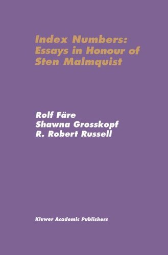 Index Numbers: Essays In Honour Of Sten Malmquist front-767256