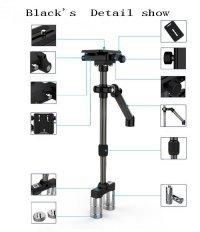 Goliton® 0.37m portable video stabilizer for Digital Cameras/SLR Cameras/Camcorders - Blue