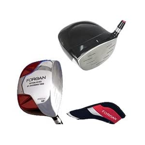 FORGAN Red SQUARE Titanium Golf Club 460cc Driver