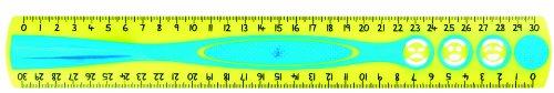 Maped Kidy Grip 278610- Righello piatto da 30 cm, confezione da 20, colori assortiti