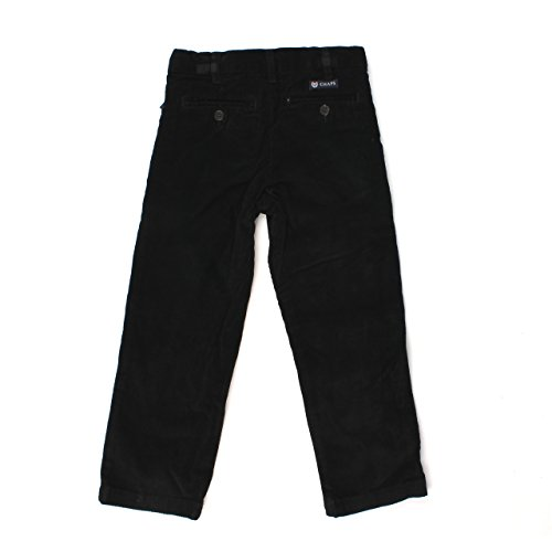 Chaps Black Corduroy Pants for Boys (7)
