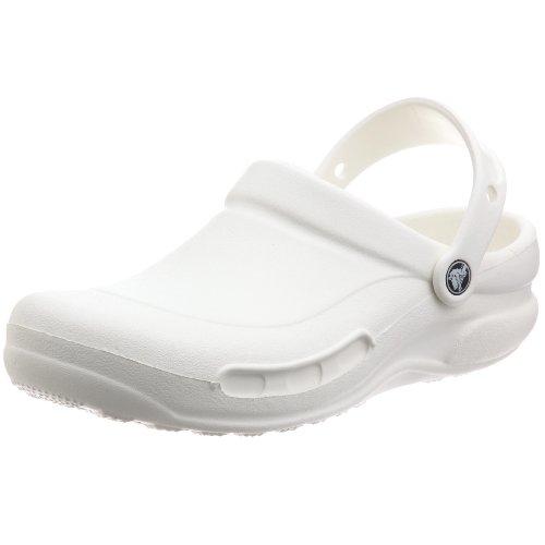 Crocs 10073 Scarpe Antinfortunistiche Unisex Adulto, Colore Bianco (White), Taglia  39-40  EU (US M7W9)