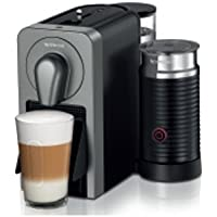 Nespresso C75-US-TI-NE Prodigio Coffee & Espresso Maker with Milk Frother (Grey/Silver)