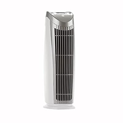 Alen T500 SB Pure HEPA Tower Air Purifier in Silver Grill and Black Body (Pack of 1)