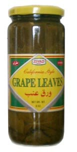 California Grape Leaves 1lb jar (ziyad) DR.WT. 8oz by Ziyad