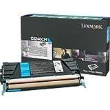 Lexmark Cyan High Yield Return Program Toner Cartridge -Cyan -Laser -5000 Page -1 Each