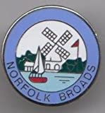 The Norfolk Broads - Norfolk / Suffolk County Pin Badge