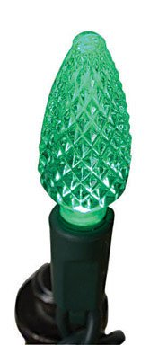Celebrations Led C5 Replacement Bulbs Green