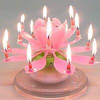 The Amazing Happy Birthday Candle - PINK
