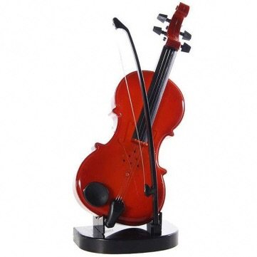 Violin Shaped Musical Toy With Stand