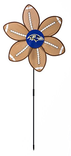NFL Ball Wind Spinner NFL Team: Baltimore Ravens - 1