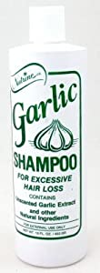 Nutrine Garlic Shampoo 16 oz. Unscented (3-Pack) with Free Nail File