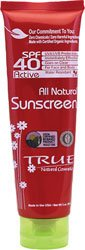 vitamin a sunscreen:True Natural All Natural Sunscreen SPF 40 -- 3 oz