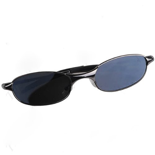 Yoyoup@Anti-Track Uv Protection Spy Reflex Sunglasses Side Mirror & Safety Glasseswith Protective Case front-182222