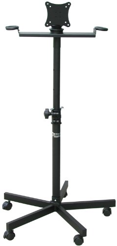 Great Features Of Audio2000'S AST420X Karaoke Stand, Black