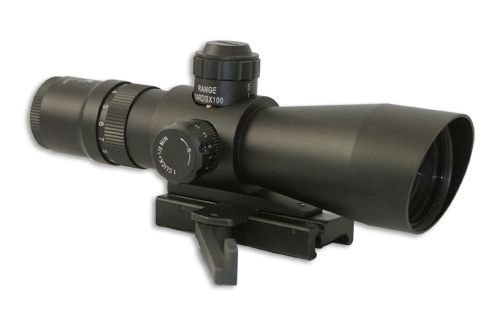 Nc Star Zombie Stryke Mark III Tactical 3-9×42 Riflescope w/Light & Green Laser, P4 KZSTP3942G-FLG