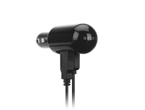 Belkin Dual USB Car Charger for iPod (Black)