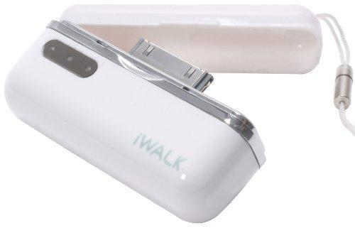 プロテック iWALK モバイルバッテリー for iPhone&iPod PIB-800WH ホワイト 【iPhone 3G,3GS,4/iPod nano 5G】