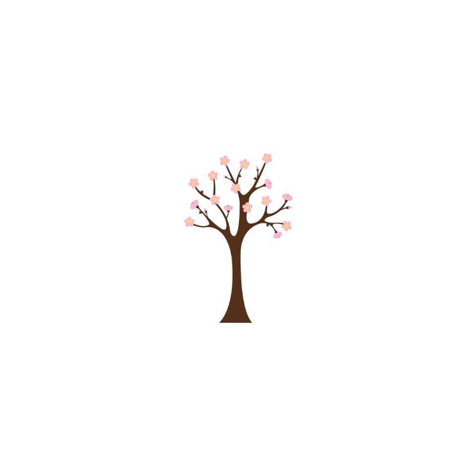Cherry Blossom Tree Wall Decal