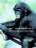 img - for By Linda Marchant Behavioural Diversity in Chimpanzees and Bonobos [Hardcover] book / textbook / text book