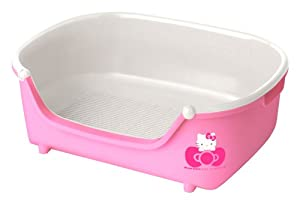 Hello kitty litter box for small cat kitten limited design from japan pet supplies - Cat litter boxes for small spaces design ...