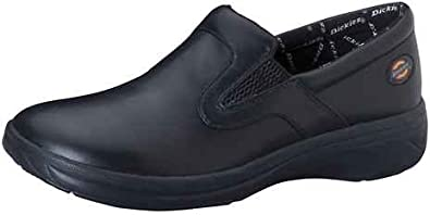 Dickies Leather Step In 10 Black